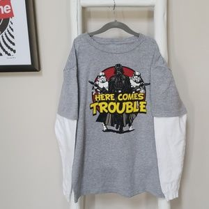 Boys Star Wars long sleeve T-shirt